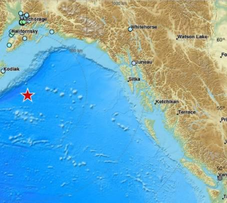 Potres od 7,9 pogodio Aljasku, izdali upozorenje za tsunami