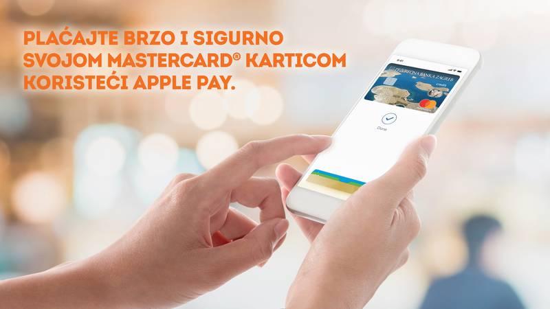 PBZ korisnicima MasterCarda donosi novu uslugu Apple Pay