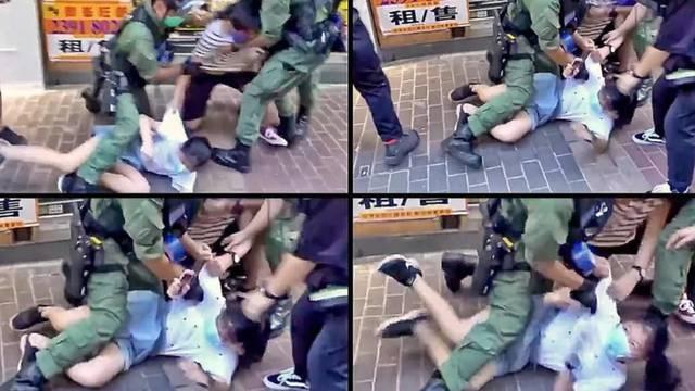 Uznemirujući video: Policija je nasilno privela djevojčicu (12) jer je 'trčala na sumnjiv način'?!