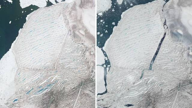 Raspala se zadnja netaknuta ledena ploča na Arktiku