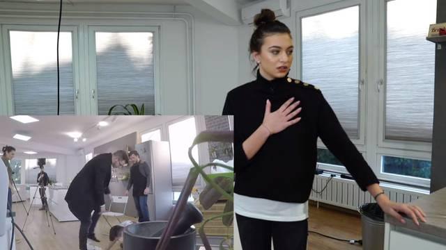 Spačka u kulinarskom showu! Ema (18) se 'otrovala' hranom