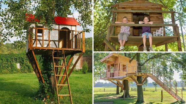 Oduševite mališane: 20 ideja za kućice na drvetu - u dvorištu