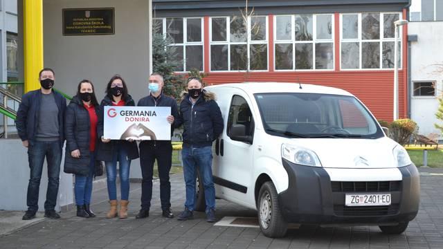 Tvrtka Germania sport uručila automobil Osnovnoj školi Ivanec