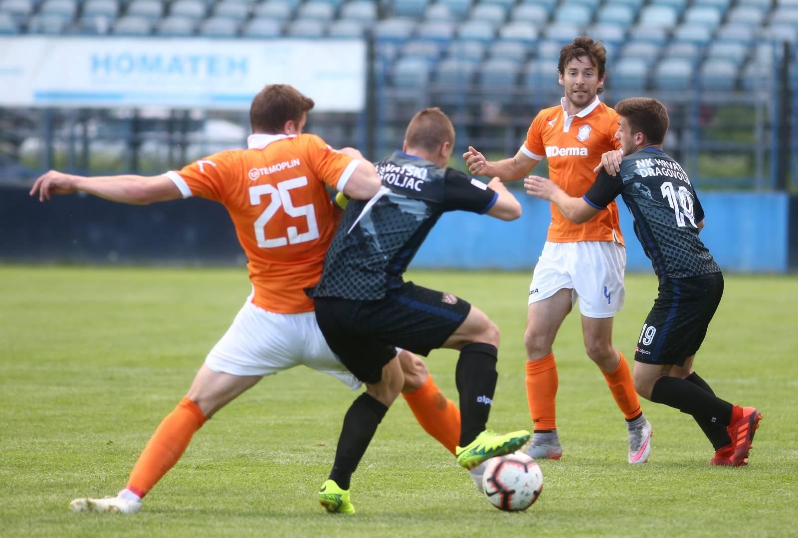Zagreb: Utakmica 2. HNL, NK Hrvatski dragovoljac i NK Varaždin