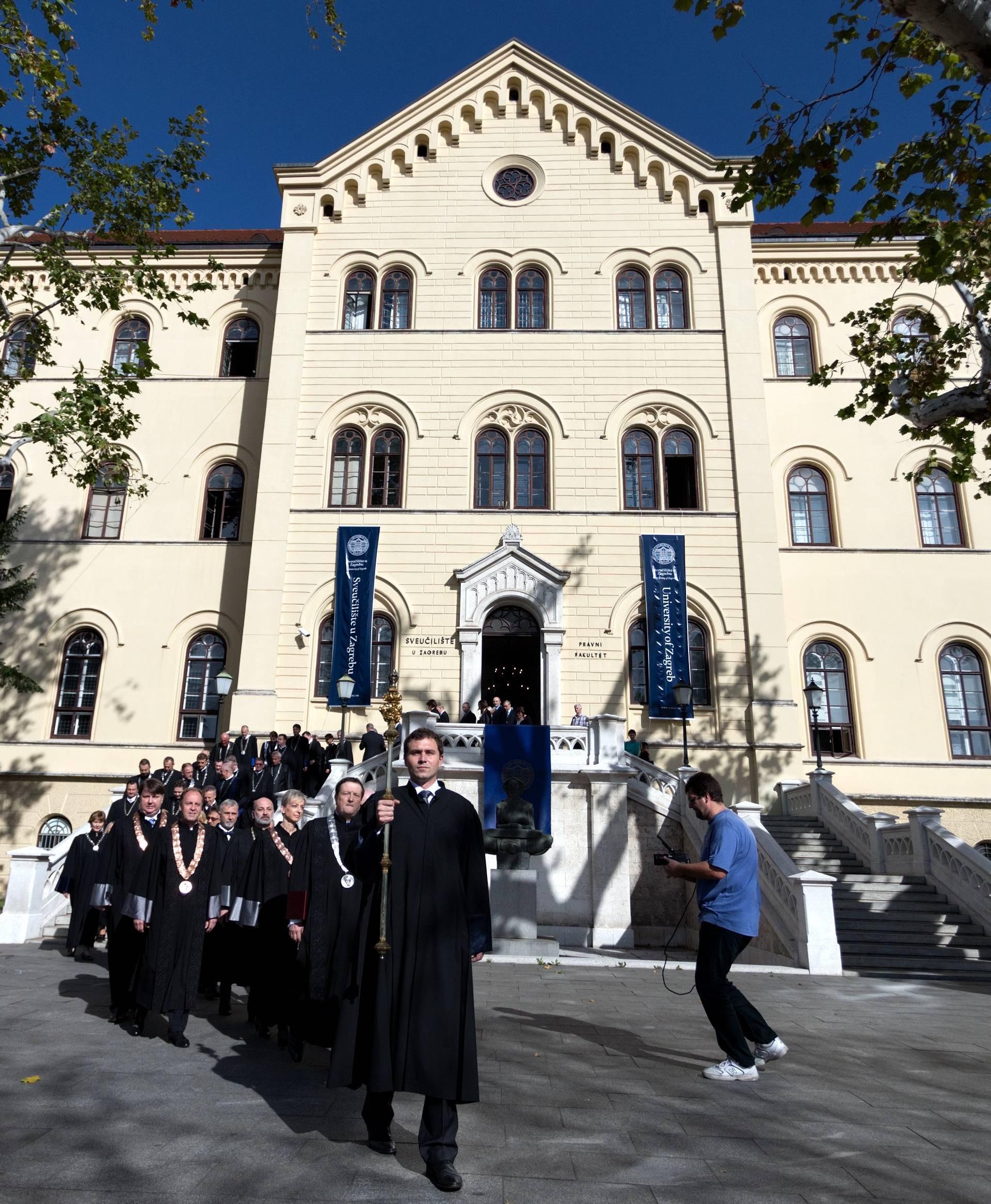 Pokrenuli proračunski nadzor nad zagrebačkim Sveučilištem
