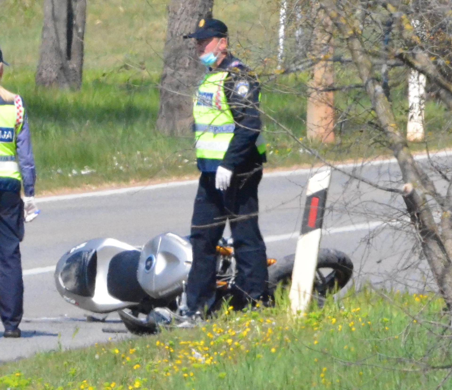 Teška nesreća u Istri: U sudaru s autom ozlijeđen motociklist