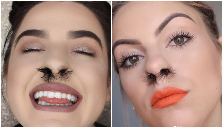 Umjetne trepavice za nos: Novi beauty hit na društvenoj mreži