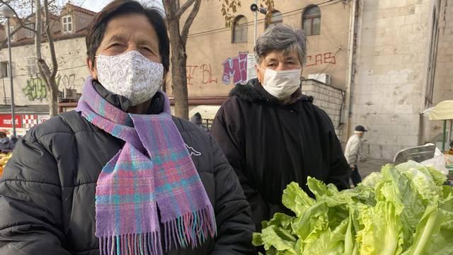 Ljubica i Janja na splitskom su pazaru preko pola stoljeća: Puž na cvjetači? E, to je hrana!
