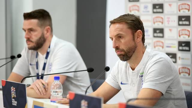 Rijeka: Engleska na konferenciji za medije spremna za okršaj protiv Hrbvatske
