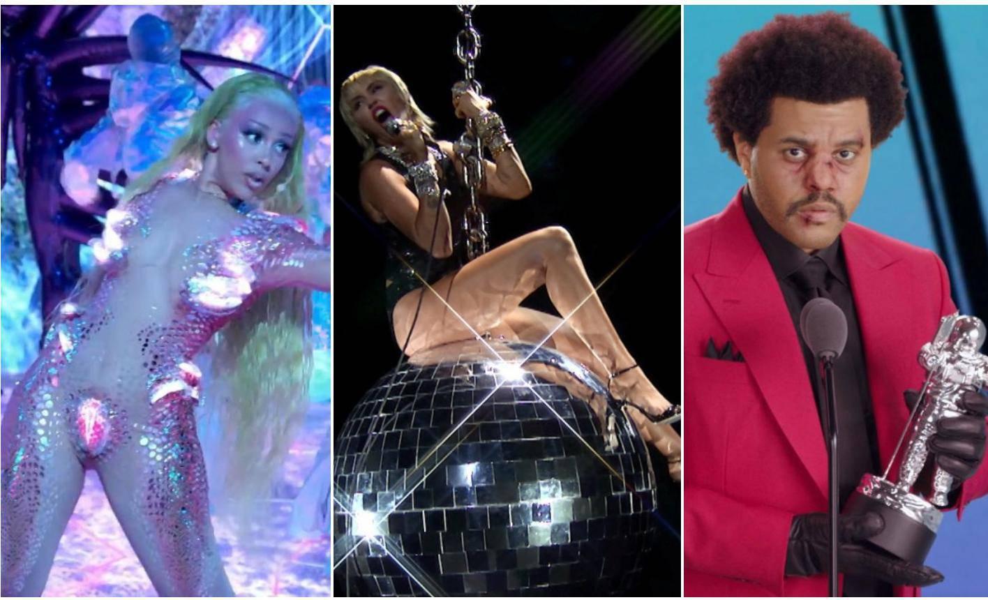 Miley opet zajahala kuglu, The Weeknd došao u modricama