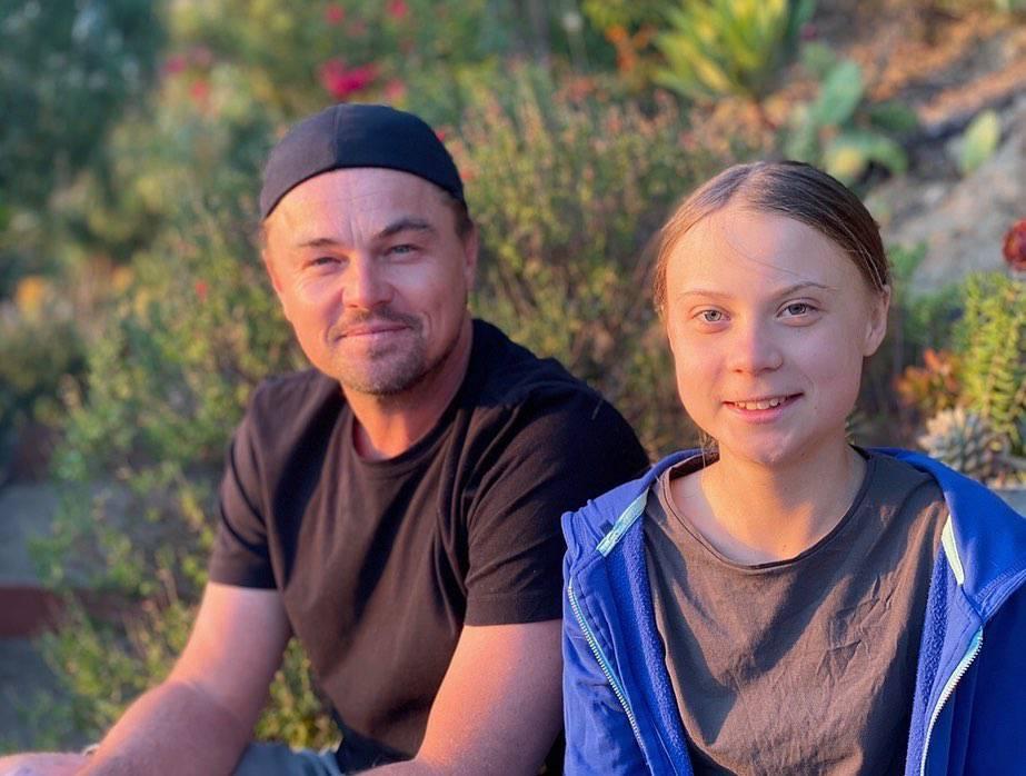 DiCaprio pozirao s Gretom: 'Ona je vođa našeg vremena'
