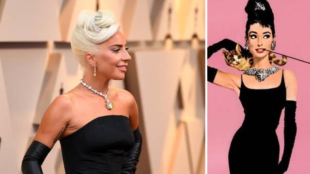 GaGa je nosila ogrlicu Audrey Hepburn od 200 milijuna kuna