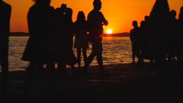 Čaroban zalazak sunca u Zadru