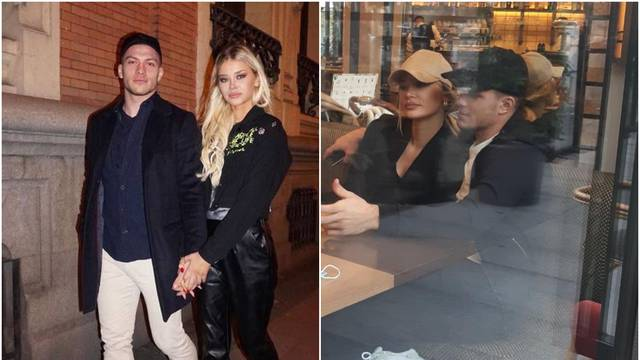 Nakon izolacije Luka i Sofija ne gube vrijeme: Šetali Madridom pa su se počastili u restoranu...