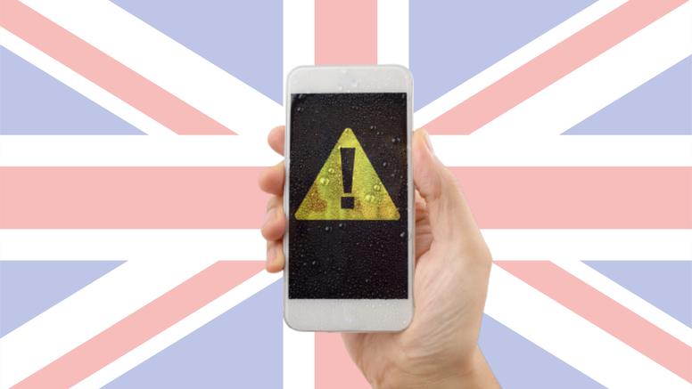 Ovo je samo test: Britancima će danas glasno svirati mobiteli