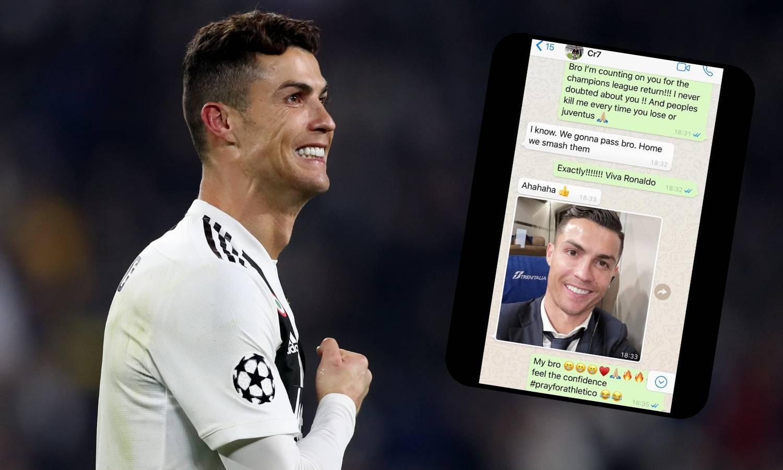 Ronaldo najavio pobjedu Evri: Pa razbit ćemo ih, prolazimo!