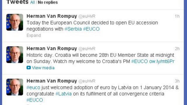 'Pregovori sa Srbijom o ulasku u EU počinju u siječnju 2014.'