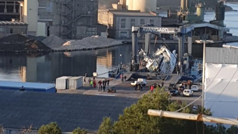Novi brod trebali predati kupcu u Puli, ali im je pao i razbio se