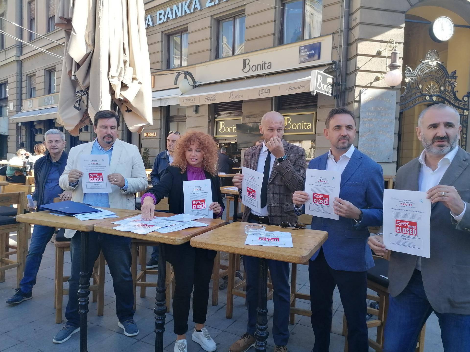 Zagreb: Prosvjeduju frizeri, a u podne se zatvaraju i kafići