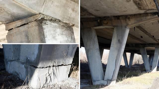 Most na ulazu u Karlovac sav popucao: 'Čekaju da se sruši?!'