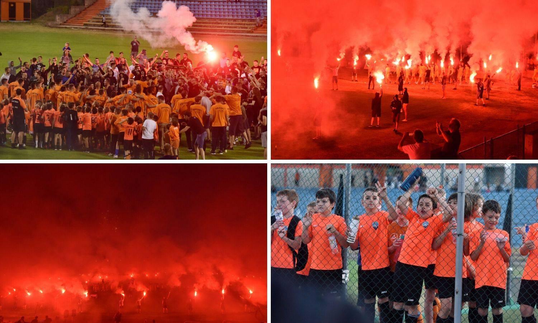 Spektakl na Šubićevcu: Funcuti sa Šibenikom slavili Prvu ligu