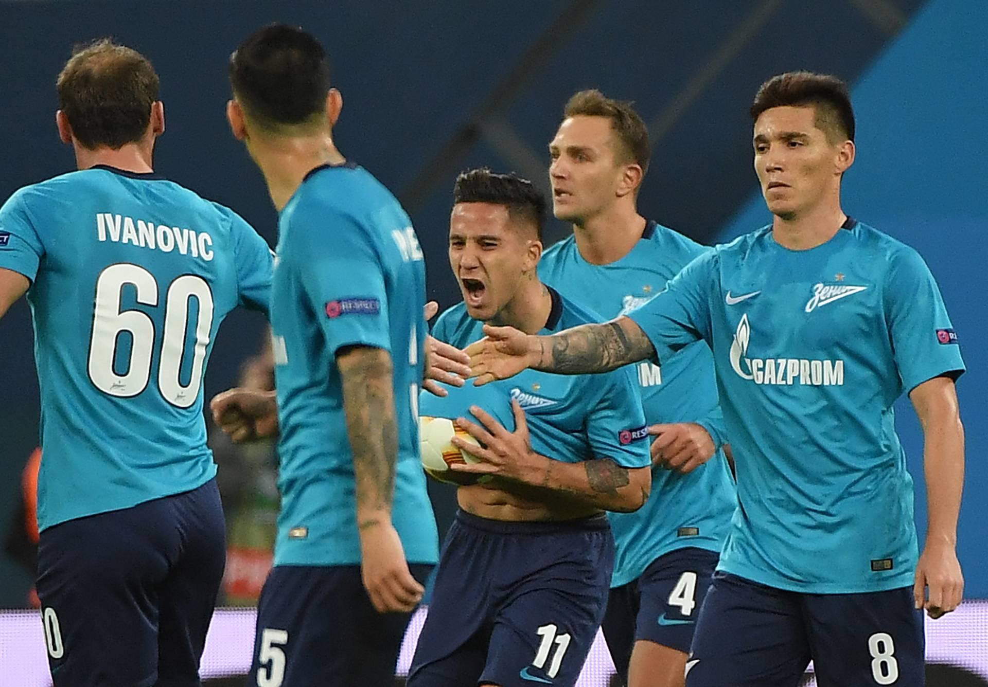 FC Zenit St. Petersburg vs RB Leipzig