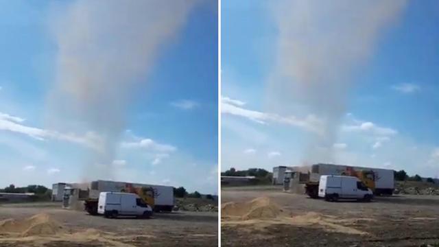 VIDEO Pijavica kod Zagreba: 'Nastala je iz vedra neba, bili smo u šoku, ne vidiš to često!'
