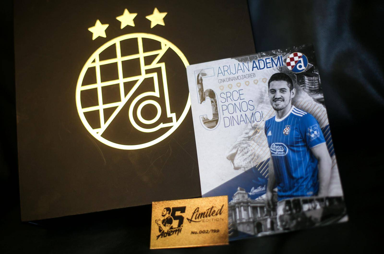 Dinamov poklon kapetanu: Ademi je sam sebi izradio dres