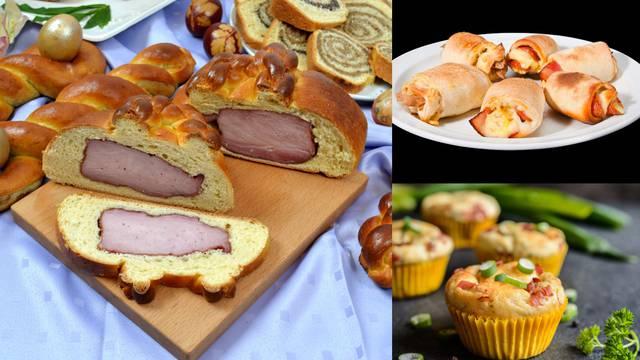 Uskrsna kuharica: Pripremite šunku u kruhu, muffine, kiflice