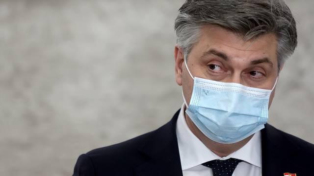 Zagreb: Andrej Plenković da izjavu nakon aktualnog prijepodneva