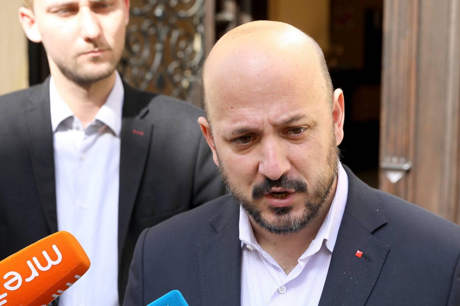 Zagreb: Gordan Maras održao sjednicu prije početka sjednice Gradske skupštine