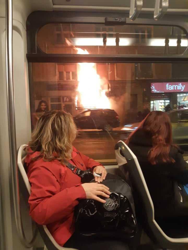 Buktinja na Kvatriću: 'Bome se jako dimilo i užasno smrdjelo'