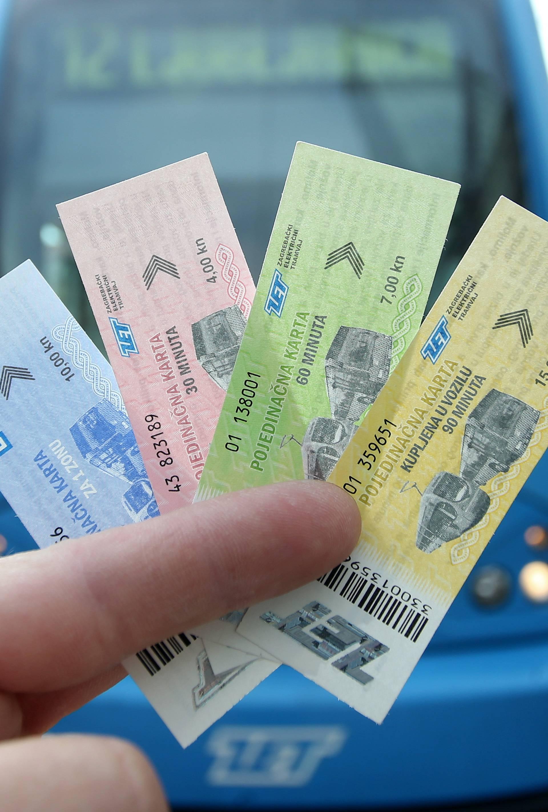 Od danas na snazi: Kod vozača ZET-a samo karta od 15 kuna!