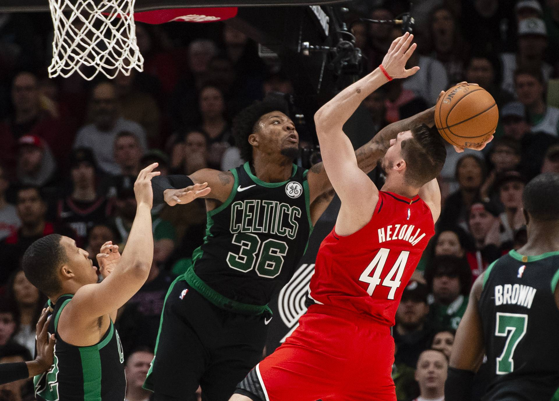 NBA: Boston Celtics at Portland Trail Blazers
