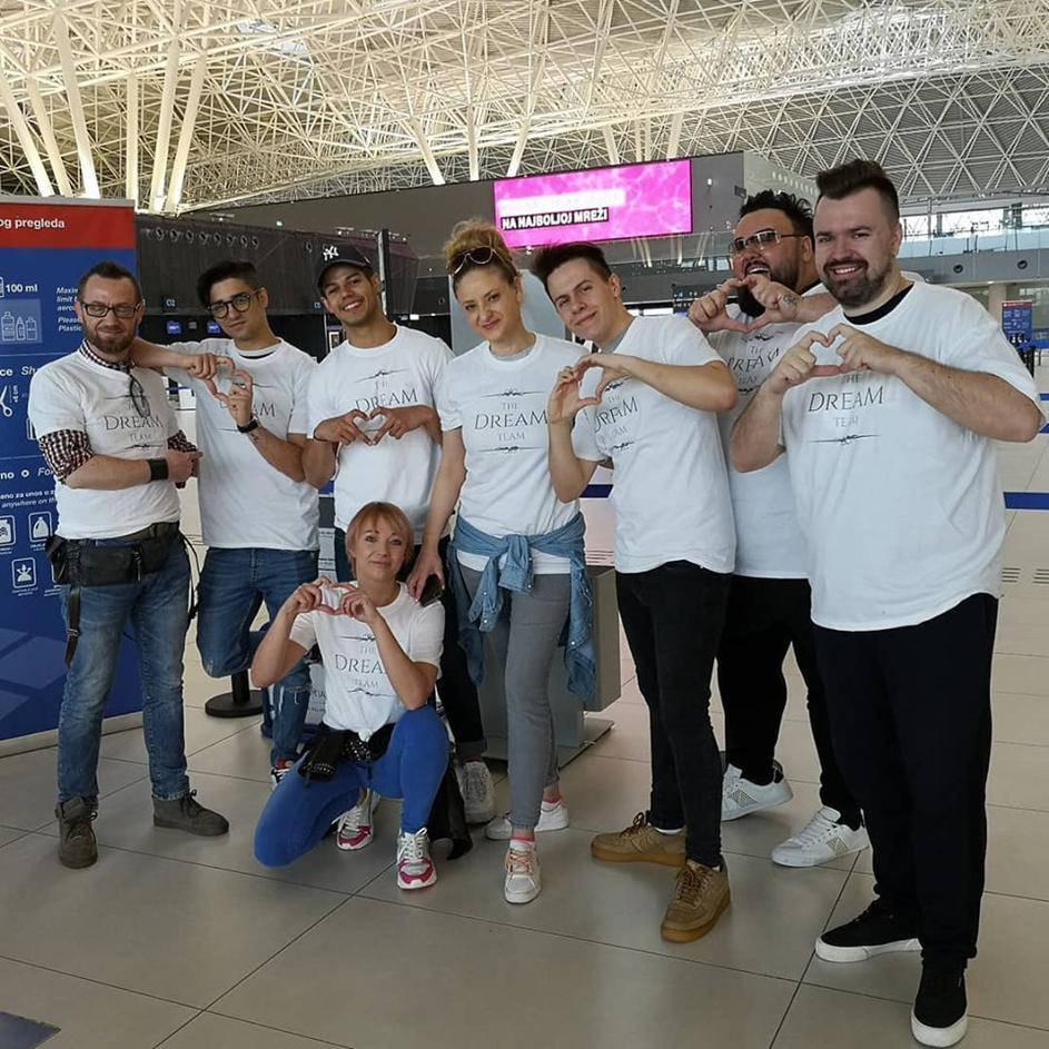 Rokova drama na aerodromu: Šminkeru su zagubili kovčeg