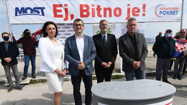 Domovinski pokret i Most - zajedno na lokalne izbore u Šibensko-kninskoj županiji