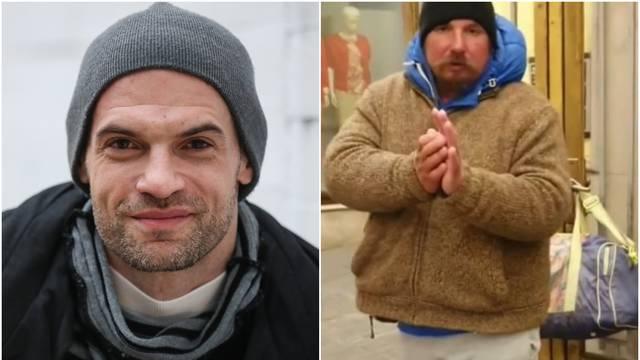 Mislav Čavajda snimio susret s beskućnikom u centru Zagreba