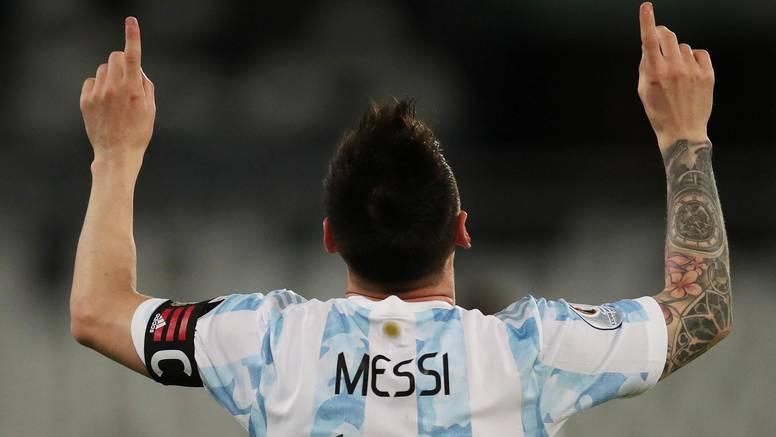 Argentina i Čile u četvrtfinalu Cope, Messi izjednačio rekord
