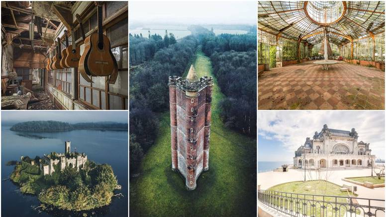 Napušteni dvorci, mjesta i kuće: Godinama su prazni, a kada bi se preuredili izgledali bi divno