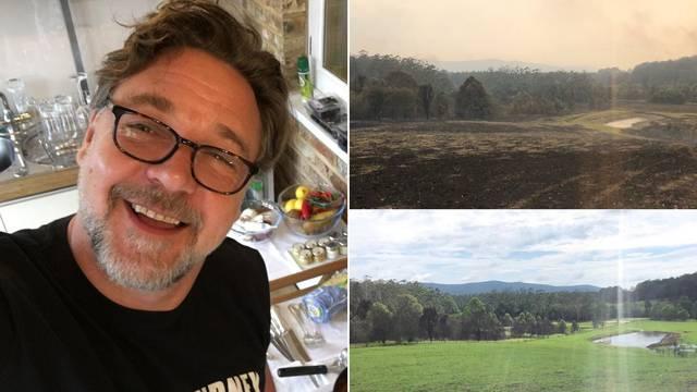 Russell Crowe pokazao imanje u Australiji: Kiša donijela život
