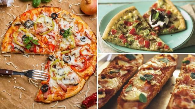 Recepti za 3 slasne vrste pizze - brza, mediteranska i povrtna pizza