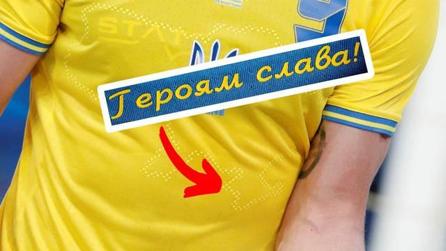 Ukrajina mora maknuti natpis s dresa, ali teritorij Krima ostaje