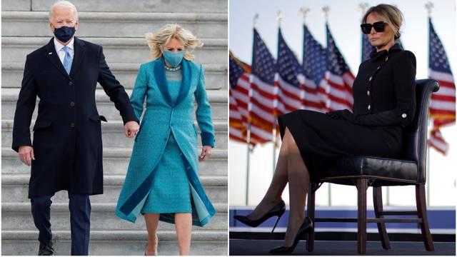 ANKETA Koja se bolje odjenula? Jill Biden ili mračna Melania?