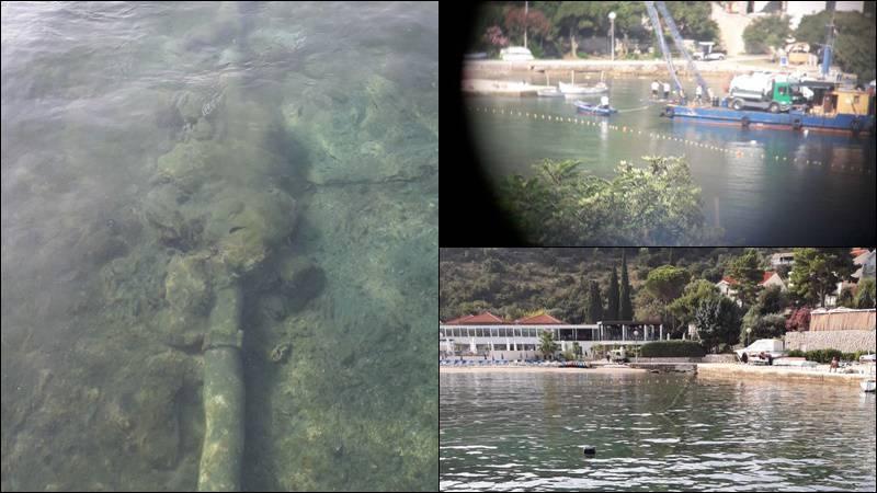 Opet fekalije u moru! Kupanje zabranjeno na otoku Koločepu