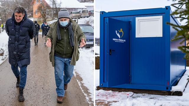 Dinamo donio 10 kontejnera u selo Pecki, Manchester United dao 10.000 eura za stradale