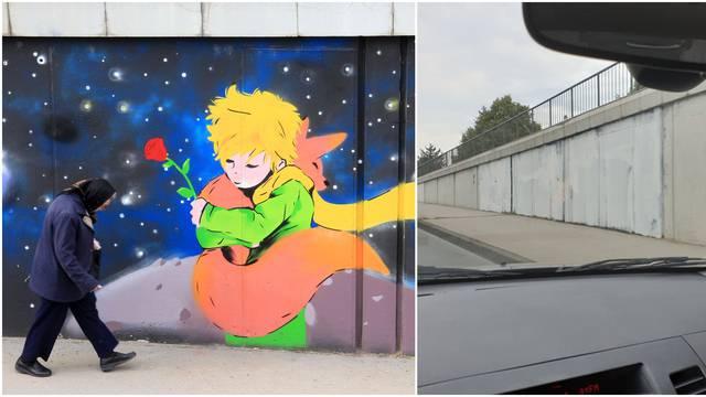 Boysi zbog svog murala uništili grafit Malog princa, stanovnici Dubrave u šoku: Vratit ćemo ga!