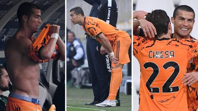 Ronaldo express: Nije ga bilo tri tjedna pa zabio za 126 sekundi