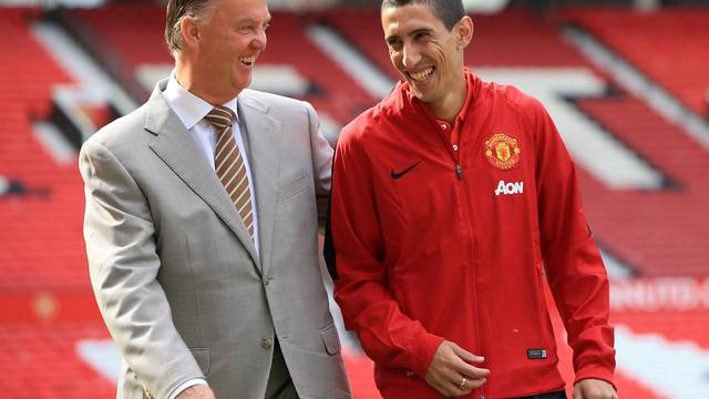 Soccer - Manchester United Photo Call - Angel Di Maria Unveiling - Old Trafford