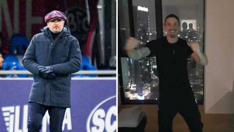 Mihajlović i Zlatan pjevat će na Sanremu: 'Nas dvojica, kao dva ciganina, ne znam što će biti'