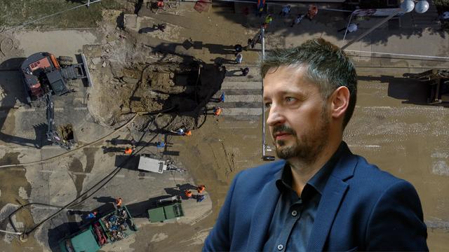 Atalić o poplavi u Selskoj ulici: 'U budućnosti se defitinitvno mogu očekivati slični incidenti'
